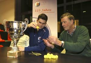 Fussball Hallenturnier , PK zum Bert-Meyer-Cup 2015